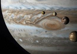 体积硕大的木星图片(9张)