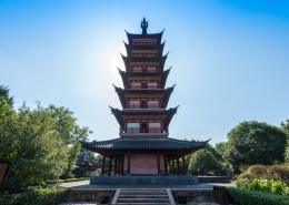 江苏苏州古镇建筑风景图片(11张)