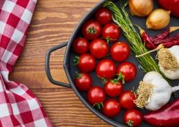 锅里的新鲜蔬菜图片(11张)