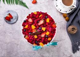 火龙果奶油蛋糕图片(16张)