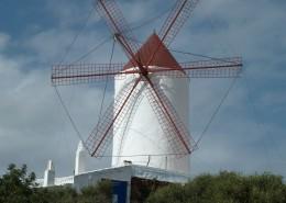 高大的荷兰风车图片(14张)