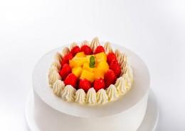 草莓水果奶油蛋糕图片(14张)