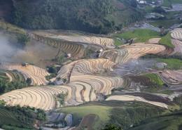 越南乡村田园风景图片(10张)