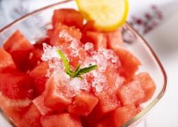夏日好吃的冰镇西瓜图片(10张)