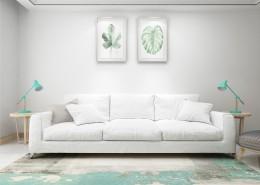 现代风沙发陈设图片(15
