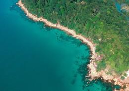 航拍小岛海岸图片(11张)