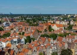欧洲历史文化名城格但斯克城市风景图片(13张)