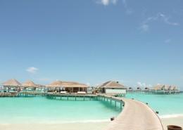 马尔代夫海边房屋风景图片(12张)