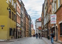 欧洲波兰华沙老城建筑风景图片(10张)