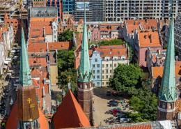 欧洲波兰格但斯克建筑风景图片(14张)