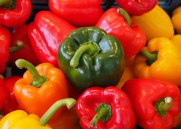 日常食用的柿子椒图片(15张)