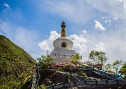 四川甘孜甲居藏寨风景图片(19张)