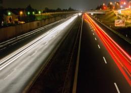 夜晚的公路图片(15张)