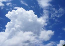 蓝天白云自然风景图片(10张)