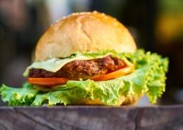 喷香的汉堡图片(13张)