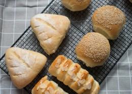 健康美味的手工面包图片(10张)