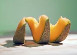 脆甜好吃的哈密瓜图片(12张)