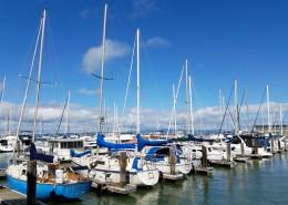 停泊在码头的船舶图片(14张)