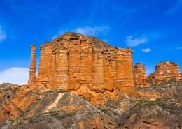 甘肃张掖丹霞国家地质公园风景图片(16张)