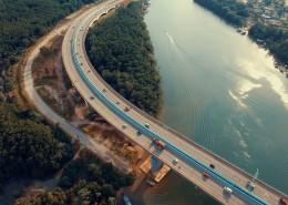 航拍公路图片(11张)