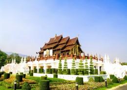 清迈寺庙建筑图片(10张)