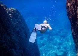 海底潜水人物图片(11张)