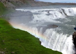 冰岛马鬃瀑布风景图片(9张)