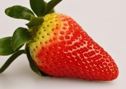 一颗熟透的草莓图片(10张)