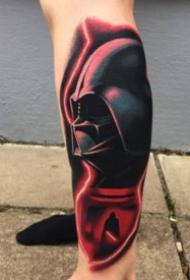 一组绝地黑武士的纹身图片赏析