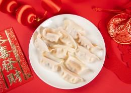 过年春节的饺子图片(10张)