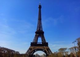 法国巴黎埃菲尔铁塔建筑风景图片(13张)