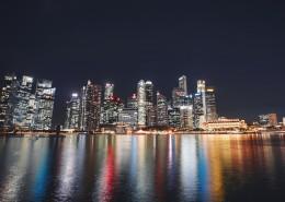 新加坡城市夜景图片(13张)