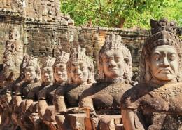 柬埔寨暹粒吴哥窟建筑风景图片(9张)