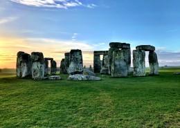 英国巨石阵图片(11张)