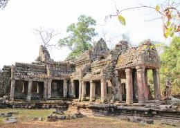 柬埔寨吴哥窟建筑风景图片(11张)