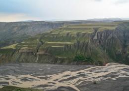 新疆乌苏大峡谷自然风景图片(14张)