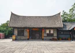 河南焦作影视城建筑风景图片(9张)
