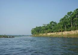尼泊尔奇特旺国家公园河流自然风景图片(9张)
