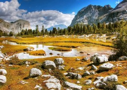 秋天的加利福尼亚州自然风景图片(9张)