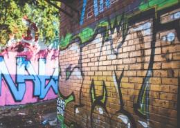 墙上的多彩涂鸦图片(16张)