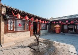 河北蔚县暖泉古镇建筑风景图片(11张)