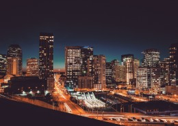 城市夜景的图片(15张)