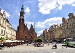 波兰弗罗茨瓦夫城市风景图片(9张)