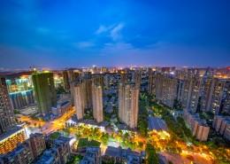 湖北武汉高楼城市建筑风景图片(10张)