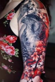 很逼真的欧美写实纹身作品18张