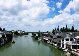 上海朱家角古镇人文风景图片(9张)