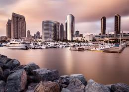 美国圣迭戈城市风景图片