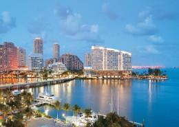 美国迈阿密城市风景图片