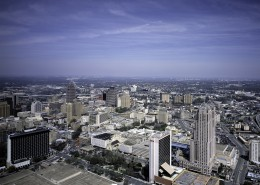 美国圣安东尼奥城市风景