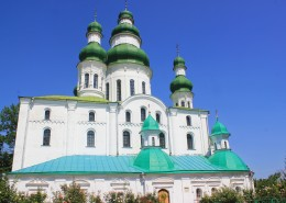 乌克兰圣索菲亚大教堂城市风景图片(10张)